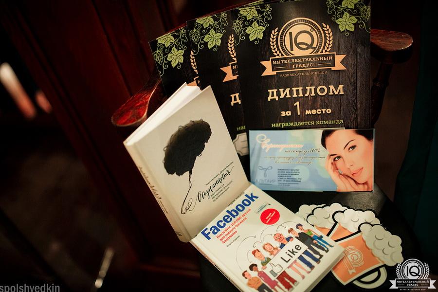 Подарки для победителей